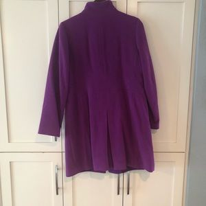 Talbots Jackets & Coats - Talbots Purple/Pink Peacoat New/no Tags